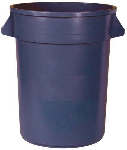 APPEAL TRASH CAN WITH HANDLES, GRAY, 20 GALLONS