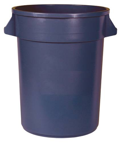 APPEAL TRASH CAN WITH HANDLES, GRAY, 44 GALLONS