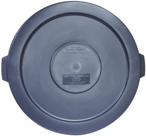 APPEAL TRASH CAN LID FOR 44-GALLON CONTAINERS, GRAY