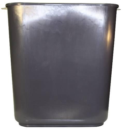 APPEAL� PLASTIC TRASH CAN, GRAY, 13-5/8 QUARTS