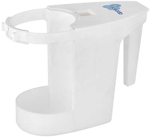APPEAL� SUPER TOILET BOWL CADDIE, WHITE, 6X8X4