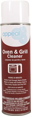 APPEAL� OVEN AND GRILL CLEANER, 20 OZ.
