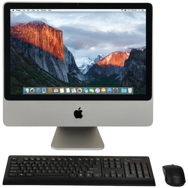 "Apple MB324LL/A/C2D/2.66/4GB/250GB/10.11 Certified Preloved 320GB 20"" iMac Desktop Computer"