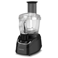 Black & Decker FP1700B Food Processor, Chopping, Blending and Cutting, On-Off/Pulse, 450 W, Black