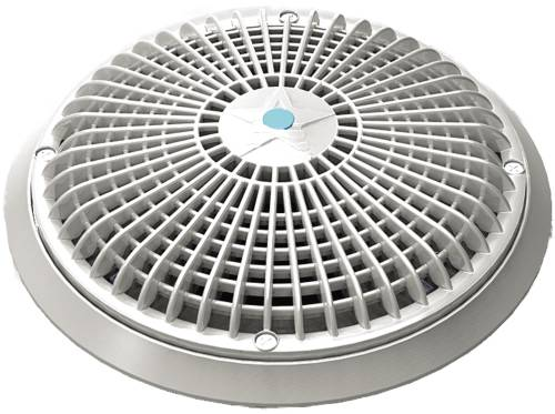 10 IN. TO 8 IN. POOL DRAIN COVER ROUND STAR