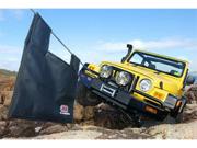 Black Jeep TJ Wrangler Deluxe Bull Bar Winch Mount Bumper