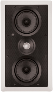 "ARCHITECH PS-525 LCRS Dual 5.25"" Kevlar LCR In-Wall Speaker"