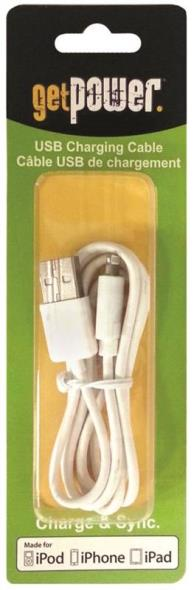 Aries GP-USB-IPH5 Get Power Usb Charge/Sync Cables, USB to Lightning iPhone 5