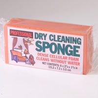 Acme DCS60 Dry Cleaning Sponge, 6 in L x 2-7/8 in W, 1-3/8 in T, Cellular Foam