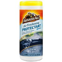 Armored Auto 10070612785333 Air Fresh Cleaning Wipe, New Car