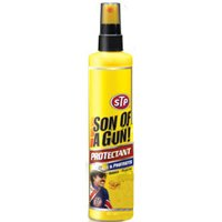 STP Son Of A Gun 65254 Leather Protectant, 10 oz, Milky White, Liquid