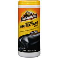 Armored Auto 10861-6 Original Protectant Wipe, 1/2 X 9 in, White, Leather