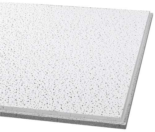 ARMSTRONG� ACOUSTICAL CEILING TILE 1732 FINE FISSURED HUMIGUARD PLUS TEGULAR, 24X24X5/8 IN.