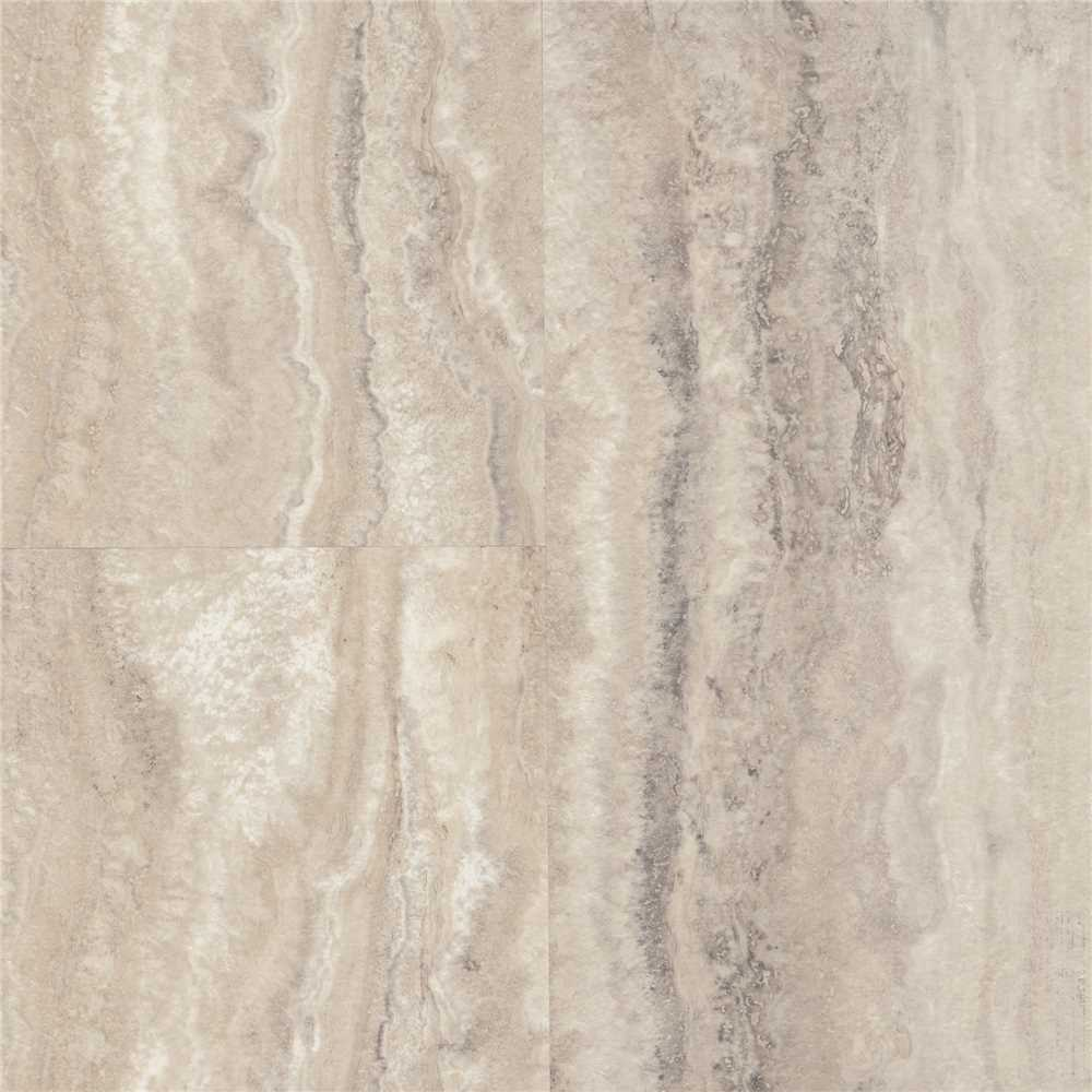 ARMSTRONG LVT LUXE PLANK WITH FASTAK INSTALLATION PIAZZA TRAVERTINE DOVETAIL / 24 SQ. FT. PER CASE
