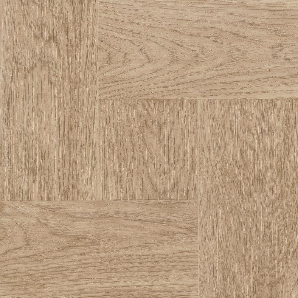 ARMSTRONG PEEL N' STICK TILE 12 IN. X 12 IN. NATURAL WOOD PARQUET 1.65MM (0.065 IN.) / 45 SQ. FT. PER CASE