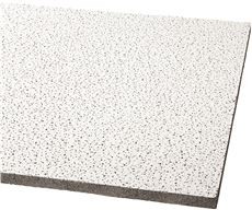 ARMSTRONG� ACOUSTICAL CEILING PANEL 1728B FINE FISSURED HUMIGUARD PLUS SQUARE LAY IN, 24X24X5/8 IN., 16 PER CASE