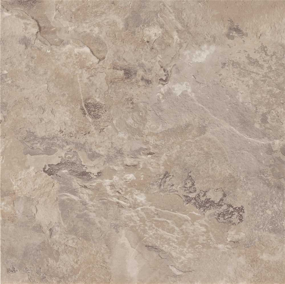 ARMSTRONG PEEL N' STICK TILE 12 IN. X 12 IN. MAYMONT WARM GRAY CLEAR CREEK  2.03MM (0.080 IN.) / 30 SQ. FT. PER CASE