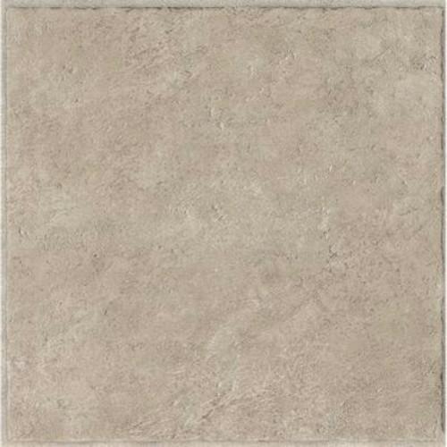 """Armstrong 12""""x12"""" Residential Vinyl Self-Adhesive Floor Tile, Pumice, .080 Gauge, 45 Tiles Per Case"""