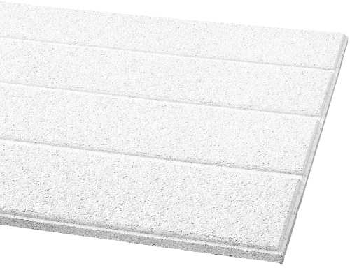 ARMSTRONG� ACOUSTICAL CEILING TILE 511A CIRRUS SECOND LOOK III HUMIGUARD PLUS, 24X48X3/4 IN.