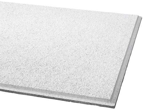 ARMSTRONG� ACOUSTICAL CEILING TILE 584B CIRRUS HUMIGUARD PLUS ANGLED TEGULAR, 24X24X3/4 IN.
