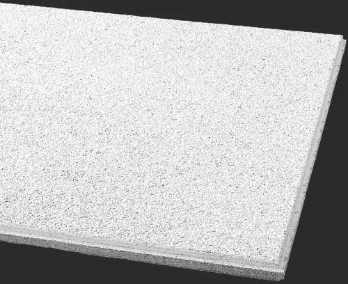 ARMSTRONG� ACOUSTICAL CEILING TILE 589B CIRRUS HUMIGUARD PLUS BEVELED TEGULAR, 24X24X3/4 IN.