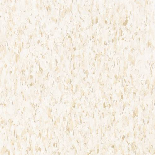 """Armstrong 12""""x12"""" Excelon Floor Tile, Fortress White"""