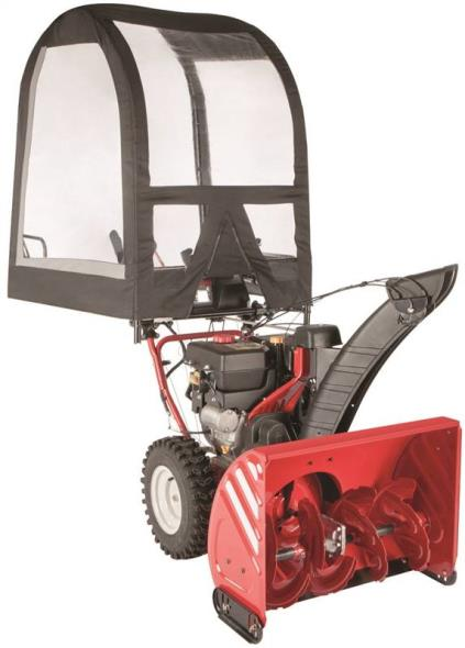 SNOW THROWER CAB UNIVERSAL