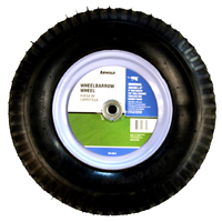Arnold WB-438-K 2-Ply Knobby Tread Pneumatic Wheelbarrow Tire, For Use With Wheelbarrows