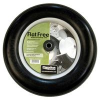 Arnold 00001 Flat Free Ribbed Wheelbarrow Tire, For Use With Wheelbarrows, Welders, Utility Carts