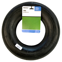 Arnold TR-82 2-Ply Ribbed Tread Replacement Wheelbarrow Tire, For Use With Wheelbarrows