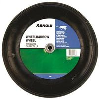 Arnold WB-468 2-Ply Ribbed Tread Replacement Wheelbarrow Tire, For Use With Wheelbarrows