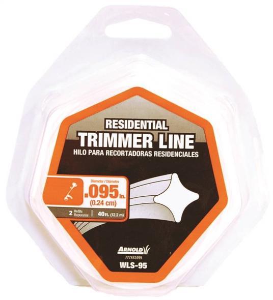TRIMMER LINE LP 2RF .095X40FT