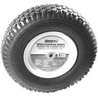 Arnold WB-438-K 2-Ply Knobby Tread Pneumatic Wheelbarrow Tire, For Use With Wheelbarrows
