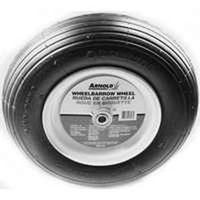 Arnold WB-438 2-Ply Pneumatic Ribbed Tread Replacement Wheelbarrow Tire, For Use With Wheelbarrows