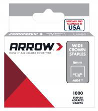60830 1/2 IN. 1000PK HD STAPLES
