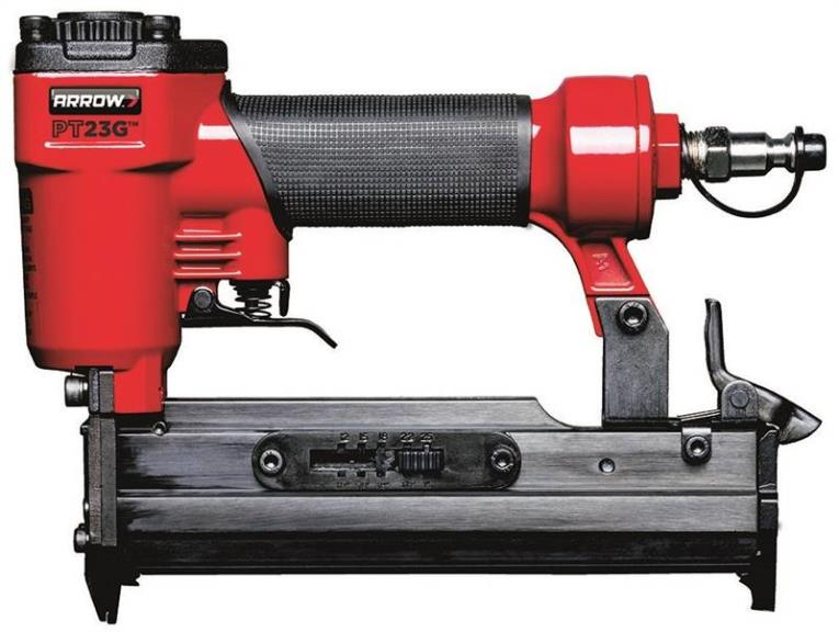 Arrow PT23G Lightweight Pneumatic Pin Nailer, 1/2 -1 in 23 ga Nail, 120 psi