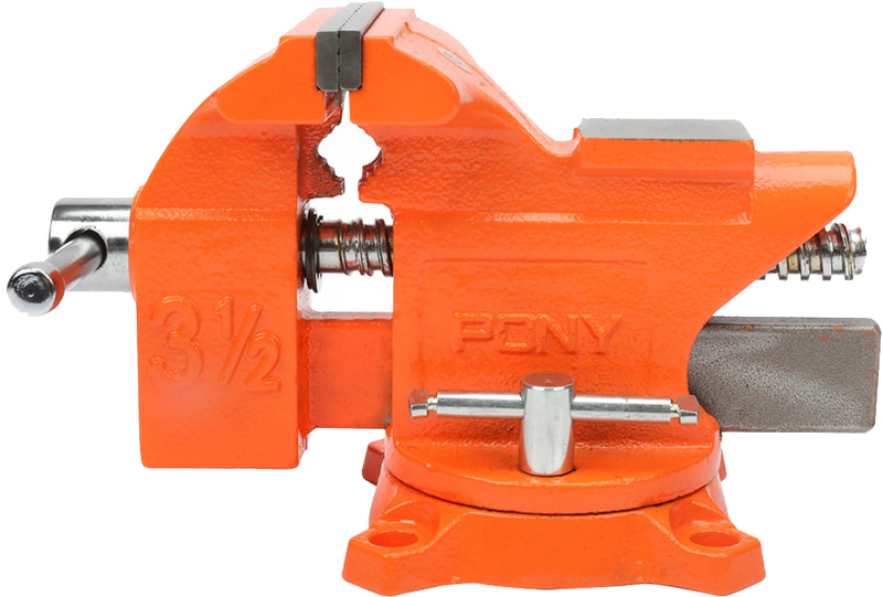 VISE BENCH WITH SWVL BASE 4IN