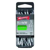 Arrow RLA5/32 Long Rivet, 5/32 in Dia X 1.29 in L, Aluminum