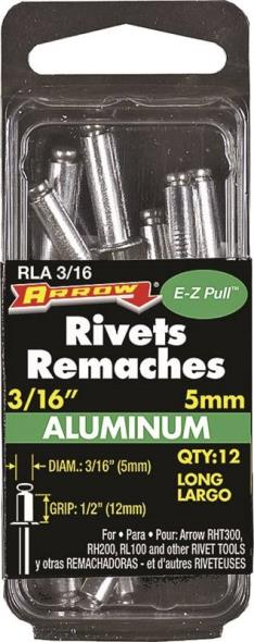 RIVET LONG ALUM 3/16X1/2IN