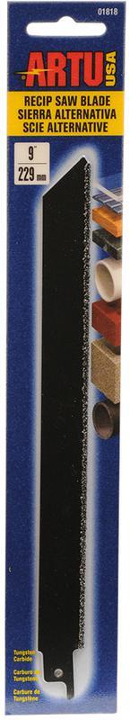 ARTU 01818 Reciprocating Saw Blade, 9 in L X 3/4 in W, 12 TPI