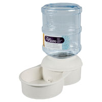 Lebistro 24765 Pet Waterer, 1 gal Capacity, Plastic Base