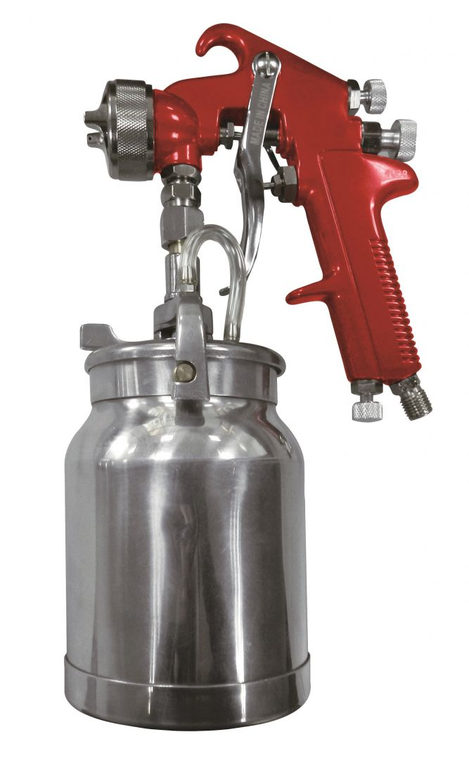 Astro 4008 Spray Gun with Cup Red Handle 1.8mm Nozzle