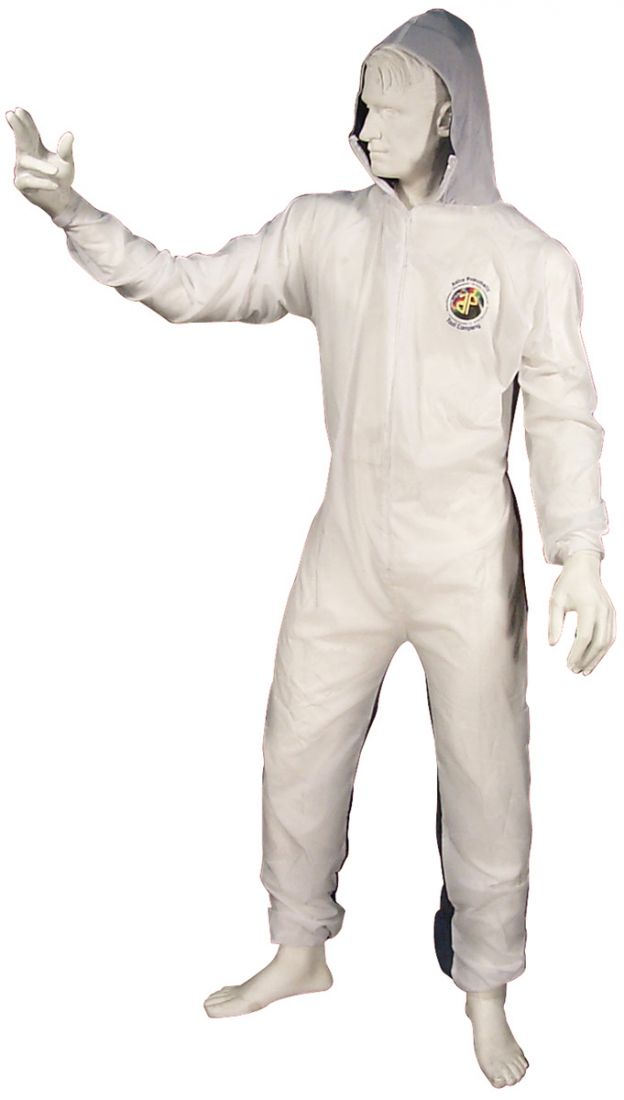 Astro 4561 Large Reusable Coverall with Velcro Wrists and Ankles
