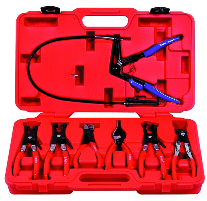 Astro 9406 Hose Clamp Plier Set  7 Piece