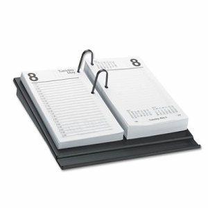 Desk Calendar Refill, 3 1/2 x 6, White, 2017