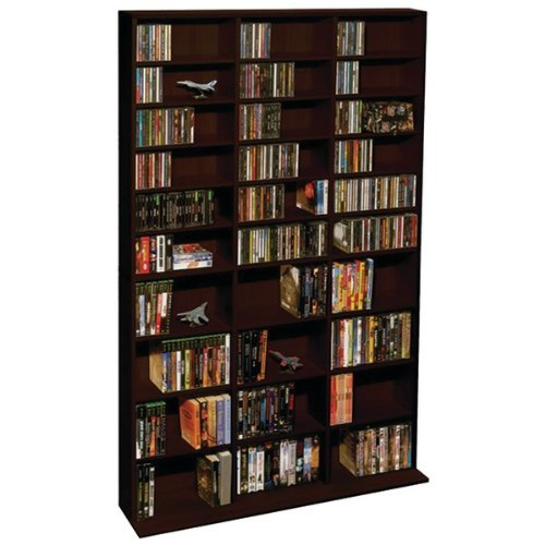 ATLANTIC 38435714 Oskar 1,080-CD Multimedia Storage Cabinet