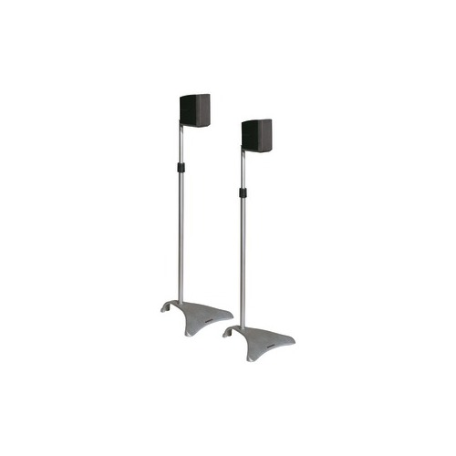 Atlantic SPSCUR47 Satellite Speaker Stands, 2 pk