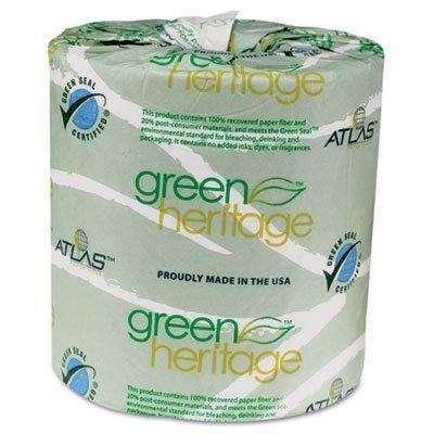 Atlas 2 Ply Standard Toilet Paper, 96 Rolls