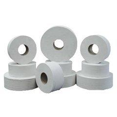 """Green Heritage Jumbo Junior Roll Toilet Tissue, 2-Ply, 9""""dia, 12/Carton"""