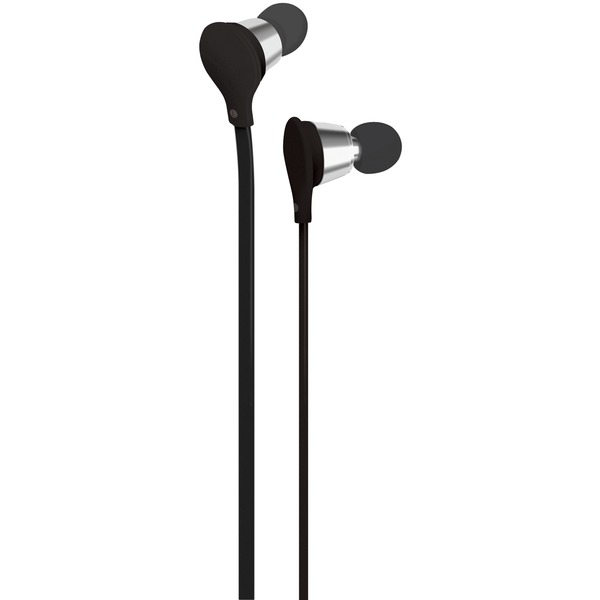 AT&T EBM01-Black Jive Noise-Isolating Earbuds with Microphone (Black)